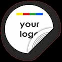 Obrázek Kruhový štítek s vlastním vzhledem, NTAG, 40mm