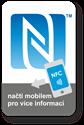 Obrázek Velký obdélnikový NFC štítek se znakem N-Mark