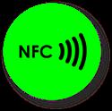 Obrázok pre výrobcu NFC sticker 50mm neon, more colors