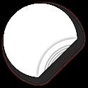 Obrázok pre výrobcu White NFC Sticker, 25mm, Ultralight
